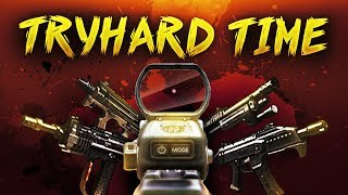 BO2 SnD - TRYHARD TIME - M8A1, PDW, MSMC, Skorpion & DSR
