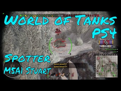 Spotter | M5A1 Stuart | World of Tanks | PS4
