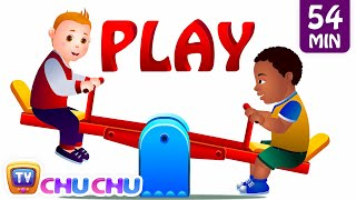 Play In The Park and Many More Playground Songs & Nursery Rhymes Collection | ChuChu TV Kids Songs