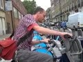 Carl with Boris Bike