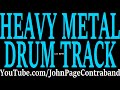 Basic Heavy Metal Drum Backing Track DRUMS ONLY 120 Bpm mp3