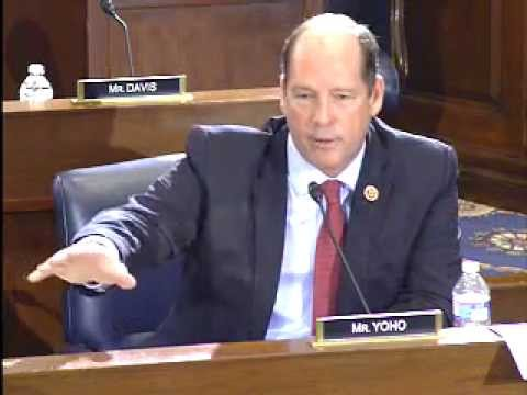Rep. Yoho Questions Agriculture Secretary Vilsack on Meat Inspection