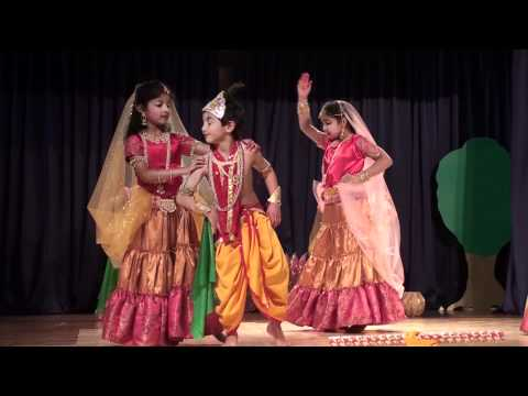 Prajna Group Dance (Choti Choti Gaiya) - Alpharetta Part - 1