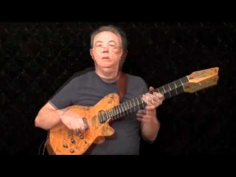 Diminished Scale Part 2 -- Blues Use Robben Ford Style