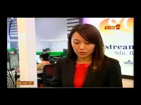 GST Malaysia - Shin Yap appearing on TV2 English News