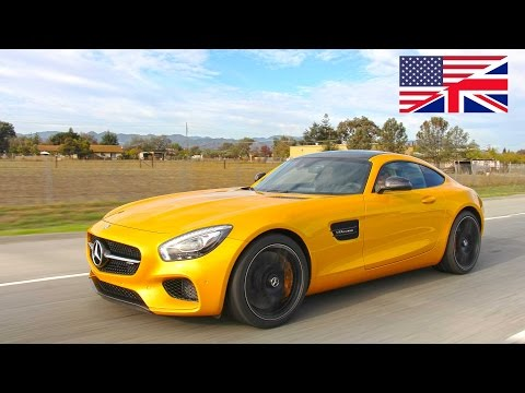 2015 Mercedes-AMG GTS - Start Up, Exhaust, Test Drive and In-Depth Review (English)