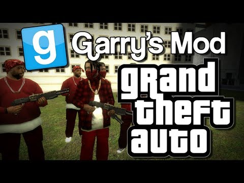 Garry's Mod | GRAND THEFT AUTO: GANG WAR! (GTA!) | Gmod