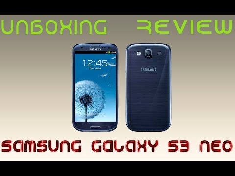 UNBOXING // Review Samsung Galaxy S3 Neo ESPAÑOL