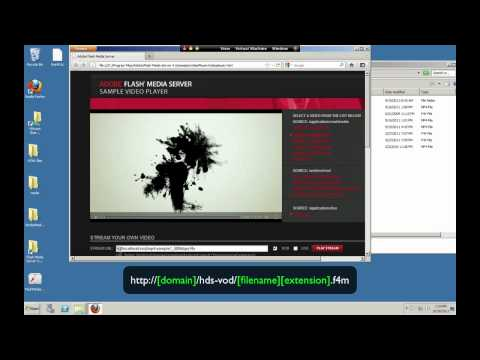 Stream on-demand video to Flash and iOS over HTTP