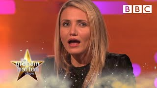 Cameron Diaz thinks all partners cheat | The Graham Norton Show - BBC