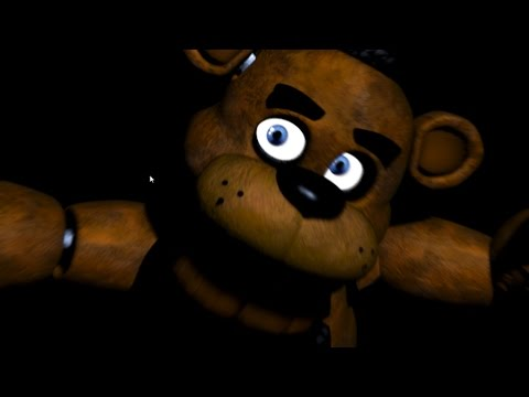 5 nights at Freddy's - Worlds Most Creepiest Bears Ever!!