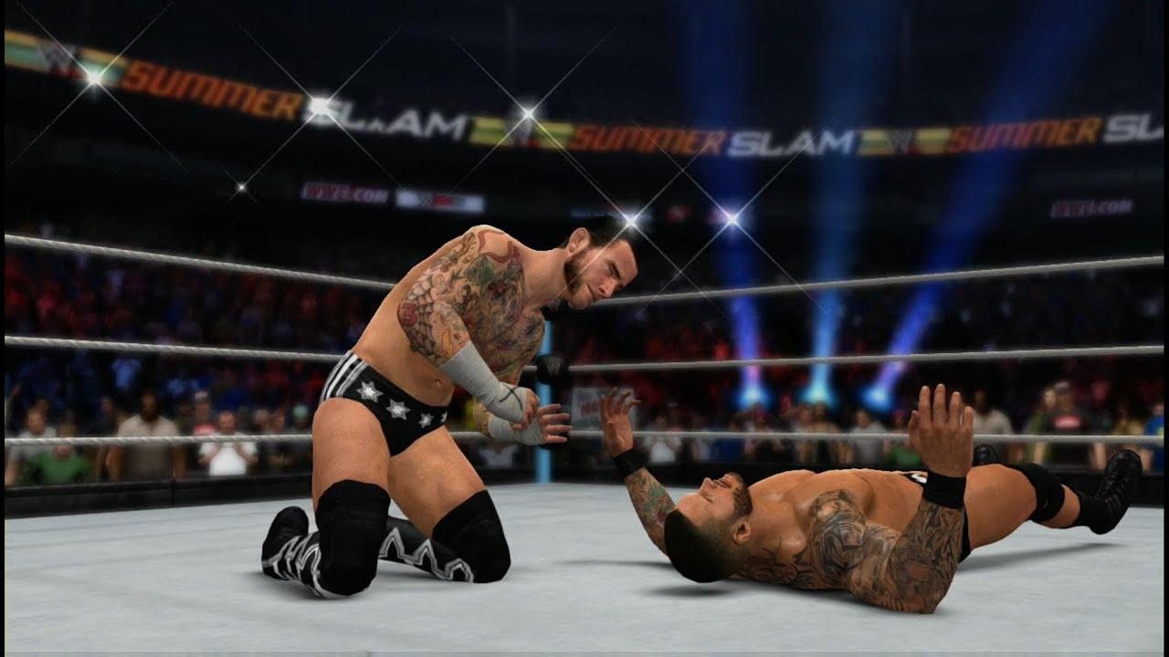 Wwe 2k15 Randy Orton Retro Wwe 2k15 cm Punk vs Randy
