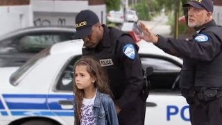 Little girl gets arrested for walking! MUST WATCH!!!