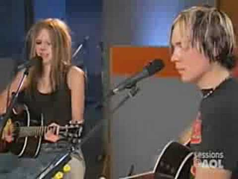 Avril Lavigne-my Happy Ending (acoustic Version) + Lyrics video