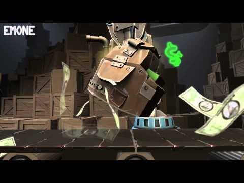 Team Fortress 2 - Robotic Boogaloo: Cut Unusual Effects