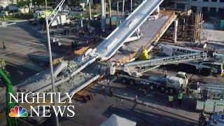 Miami Pedestrian Bridge Collapses, Killing Four | NBC Nightly News