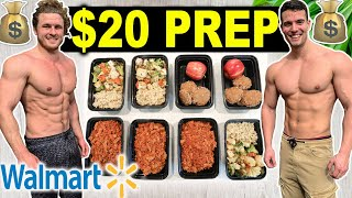 $20 HIGH PROTEIN MEAL PREP ON A BUDGET | WALMART EDITION