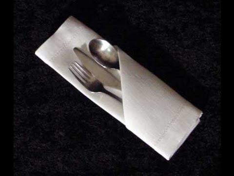 c mo doblar una servilleta de papel para una fiesta facil y rapido madelin 39 s cakes. Black Bedroom Furniture Sets. Home Design Ideas