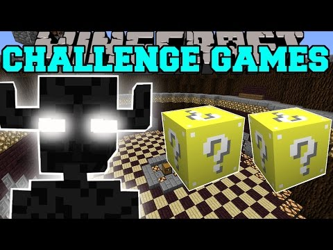Minecraft: ENDER GOLEM CHALLENGE GAMES - Lucky Block Mod - Modded Mini-Game