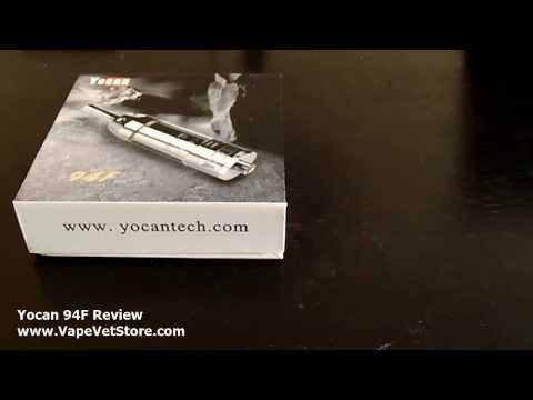 Yocan 94F Review: Better than Atmos Raw Rx? Portable Dry Herb Vaporizer / Vape Pen Review