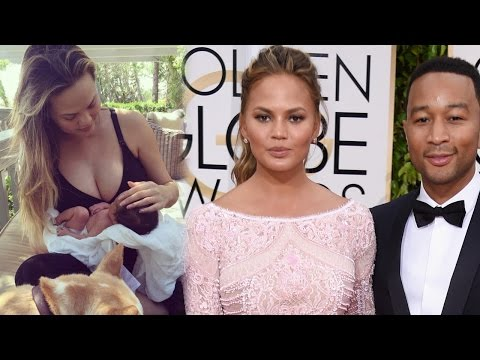 Chrissy Teigen Reveals Adorable First Photo of Baby Luna