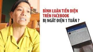 Rắc rối vì bình luận về hóa đơn tiền điện trên Facebook