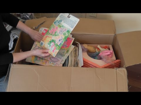 G1 My Little Pony: Unboxing an Epic eBay Lot - Part 2 with backcards