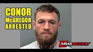 Conor McGregor Arrested for Second Time in Less Than a Year