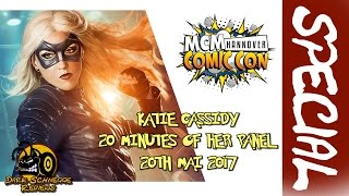 McM Comic Con Hannover│KATIE CASSIDY 20MIN OF HER PANEL [English/Englisch]