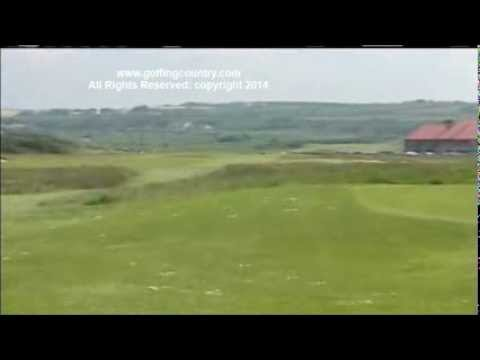 ROYAL PORTRUSH GOLF CLUB, VIDEO BY GOLFING COUNTRY