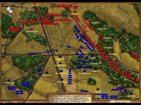 Battle of bull run 2 map