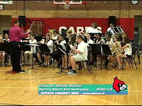 Colerain Middle School Band Extravaganza