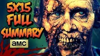 The Walking Dead: Season 5 - 5x15 MAJOR SPOILERS!!! (Link In Description)