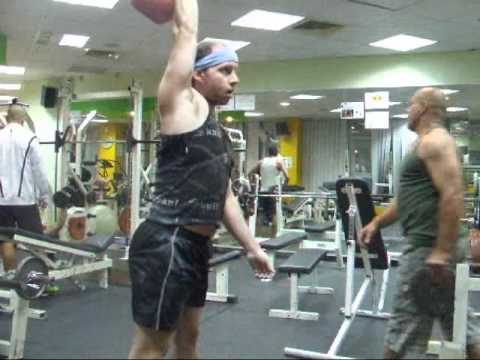 Kettlebell Sport * a part of my SNATCH workout * קטלבלס סנאצ'