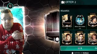Guaranteed Icon in a Pack!! FIFA Mobile 18 Master Gift Opening! Plus Elite Gift Opening!