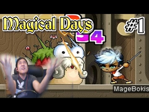 Magical Days Ep. 1 Lets Play MapleStory