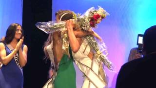 Baylee Jensen is crowned Miss Utah USA® 2017!