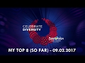 download Eurovision 2017 - My top 8 (so far) |09.02.2017| [/w comments]