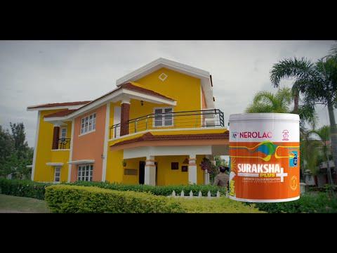 Nerolac Suraksha Plus New TV AD – Everlasting Wall Paint Colors