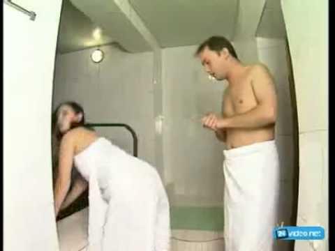 Веселый секс прикол видео в сауне