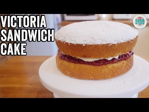 EASY VICTORIA SANDWICH CAKE RECIPE thumbnail