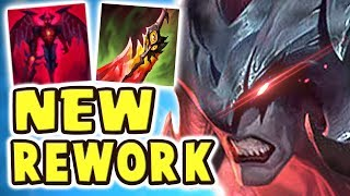 RIOT DEFINITELY WENT TOO FAR!! NEW AATROX REWORK JUNGLE SPOTLIGHT (23 kilIs) THE MOST BROKEN REWORK