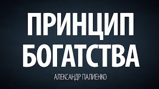 Принцип богатства. Александр Палиенко.