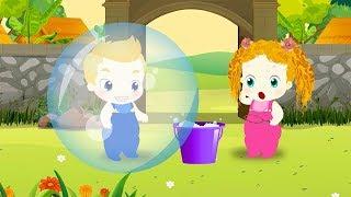 Roma Diana and mom play with Bubble Balloons Cartoon