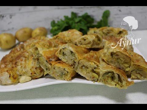 El Açması Kol Böreği (Patatesli) Aynurun yeme ve pasta tarifleri