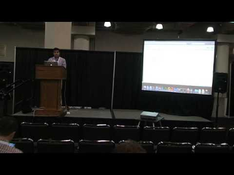 SYS-CON.tv @ 12th Cloud Expo   Demo on Impetus Technologies' Big Data Solution