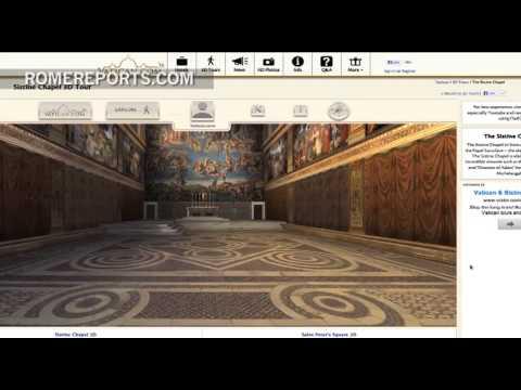 Tour virtual en 3D por la capilla más famosa del mundo, la Capilla Sixtina