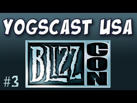 Yogscast - USA: Pre-Blizzcon Interview - Davis of TheWarpZone