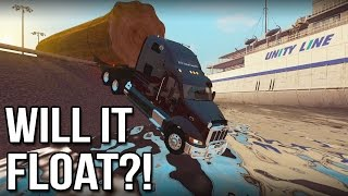 Will It Float?! - Euro Truck Simulator 2 (Livestream Highlight)