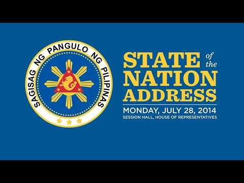 2014 State of the Nation Address (clean feed)